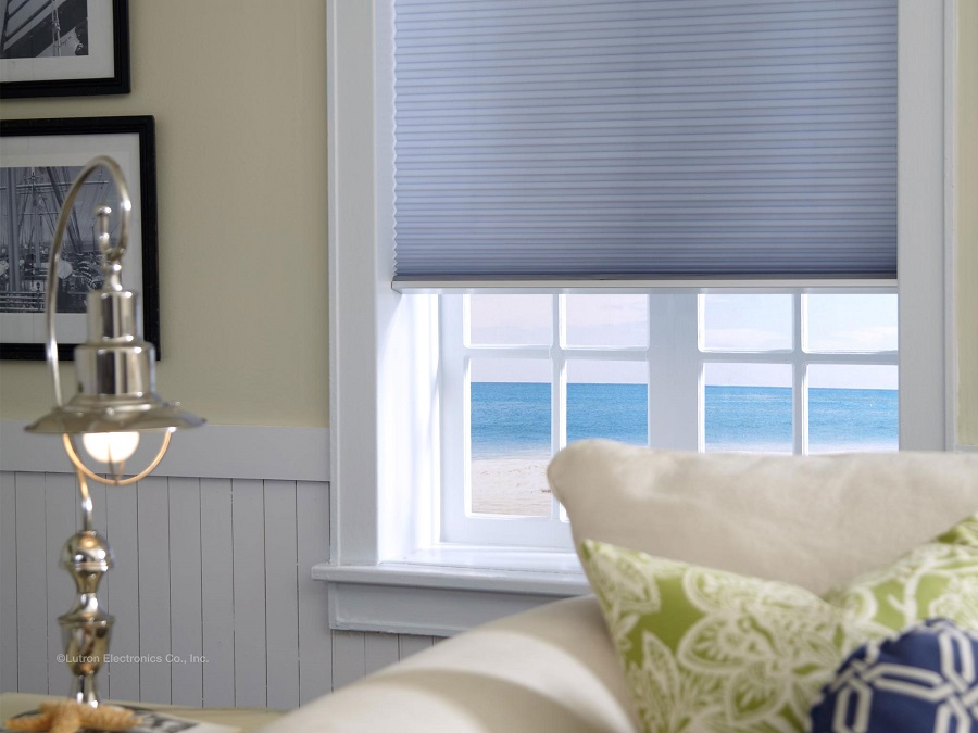 Simplify Lighting Control with Motorized Blinds and Shades