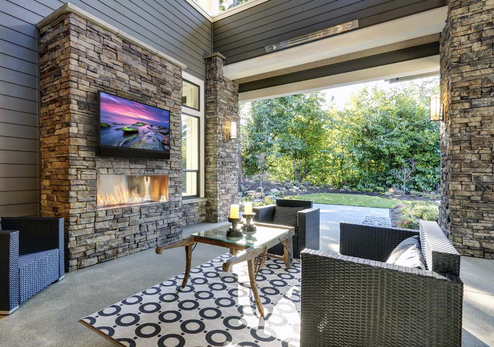 Outdoor TVs for the Ultimate Spring Break Staycation