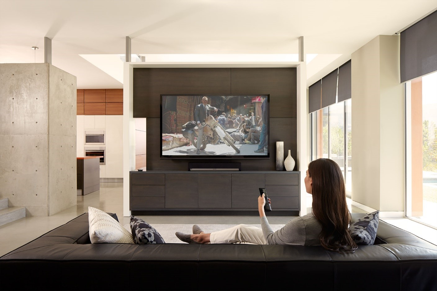 A Savant Home System Starts with a Soundbar