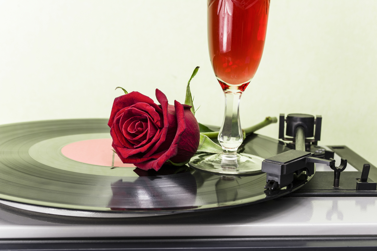 Valentine's Date Night: Vino and Vinyl